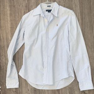Ralph Lauren pinstripe dress shirt